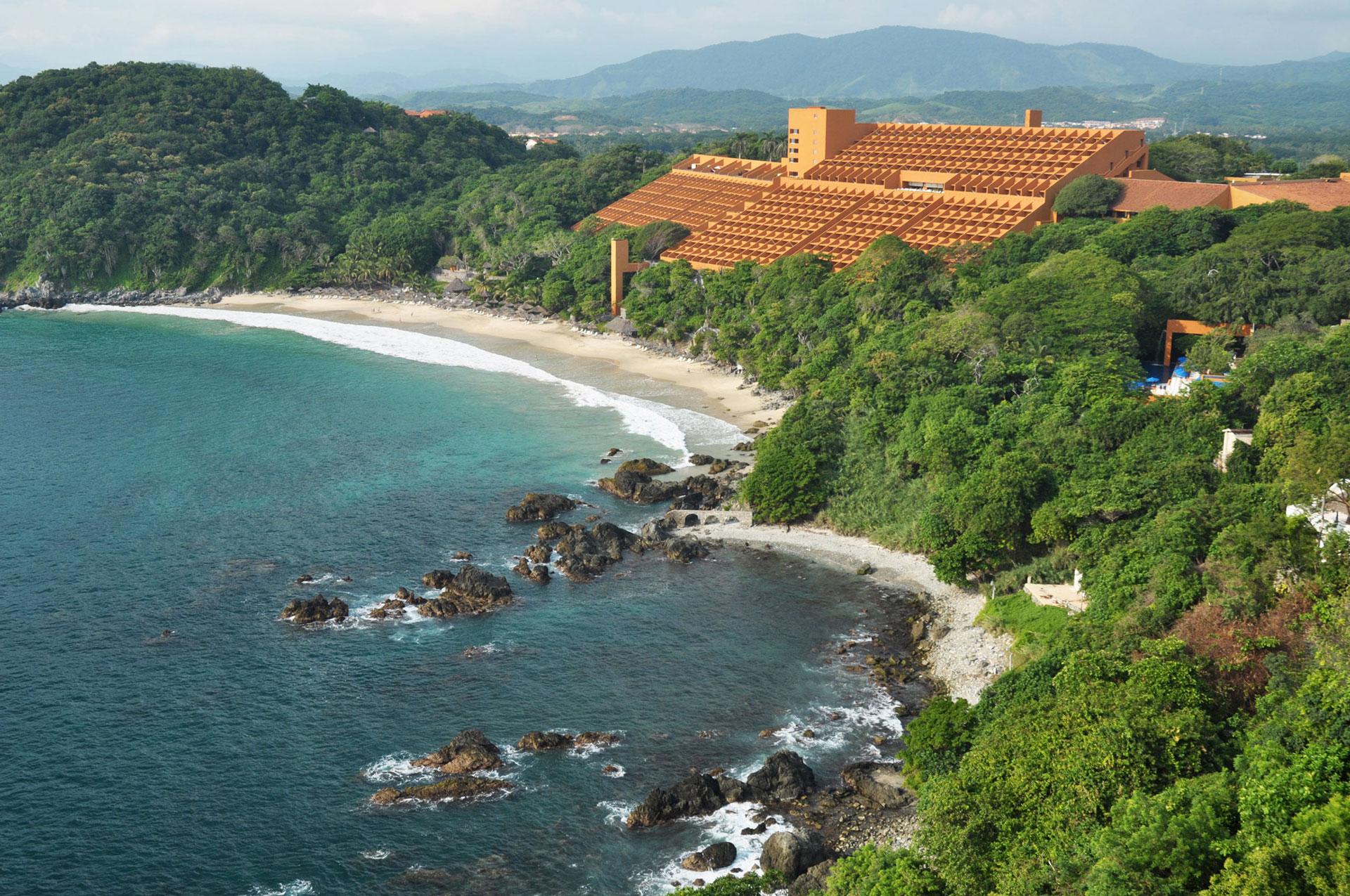 Playa y Hotel Las Brisas Ixtapa