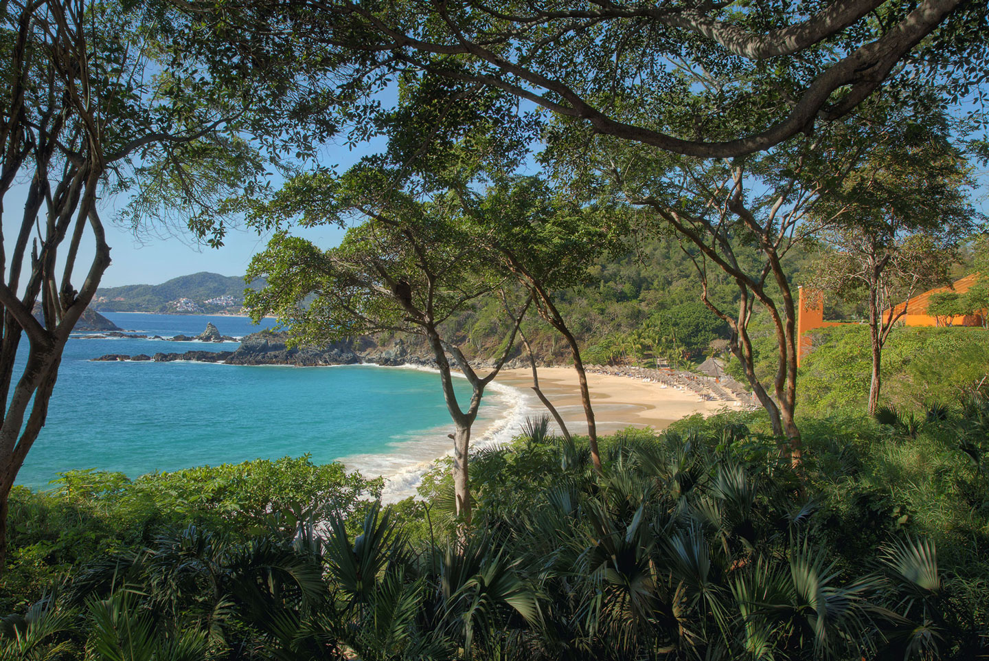 Beach at Hotel Las Brisas Ixtapa