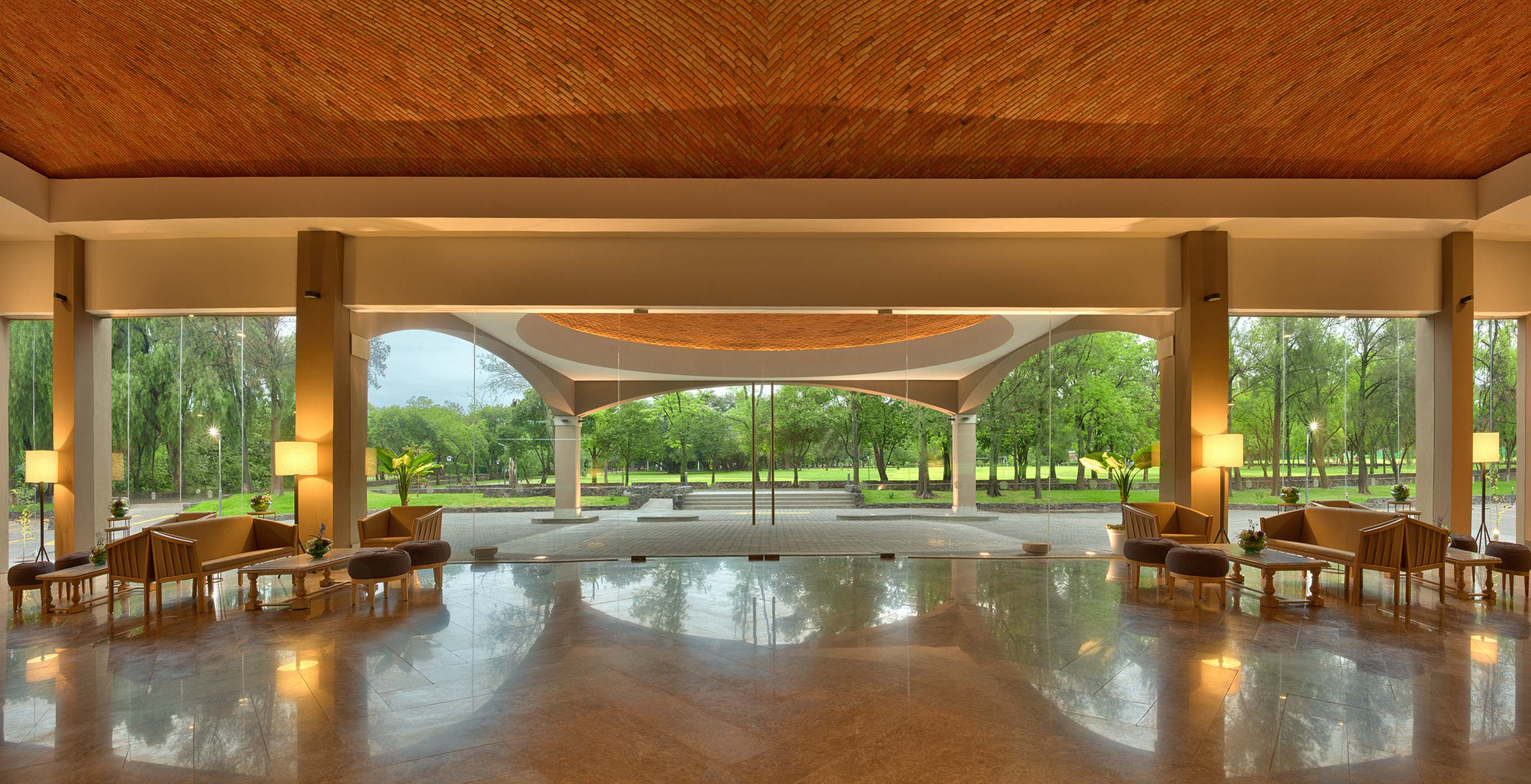 conference entrance in Hotel Hacienda Jurica by Brisas Queretaro