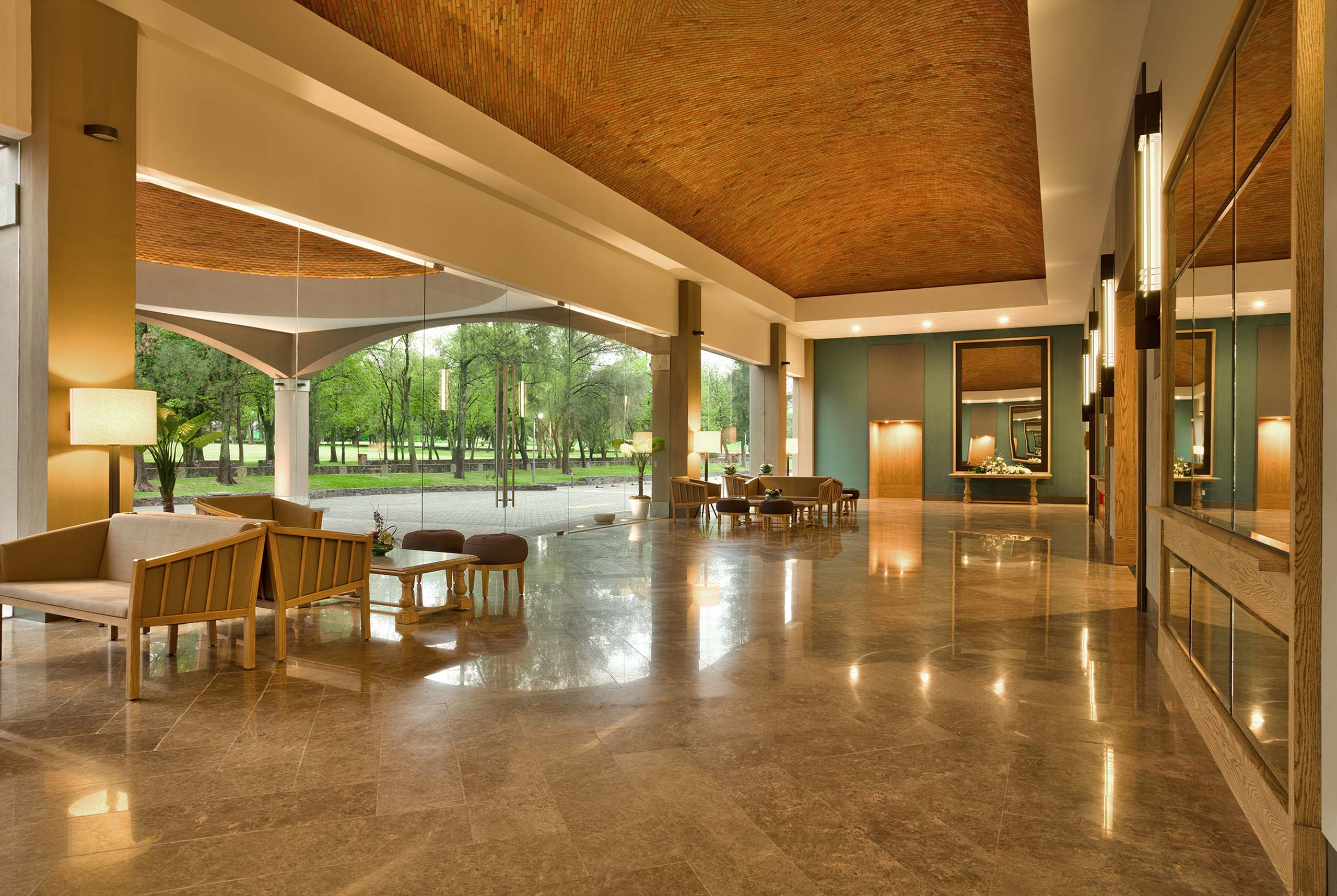 Interior conference Hotel Hacienda Jurica by Brisas Queretaro