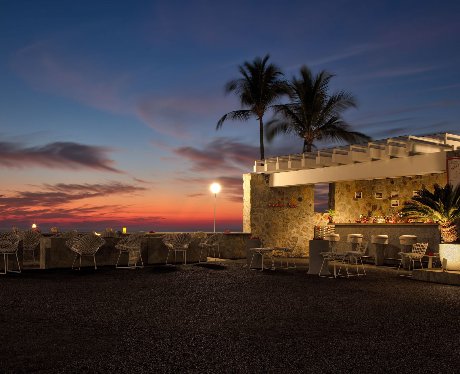 Hotel Las Brisas Acapulco sunset bar