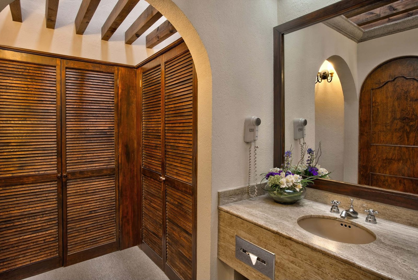 Master suite bathroom Hotel Hacienda Jurica by Brisas Queretaro