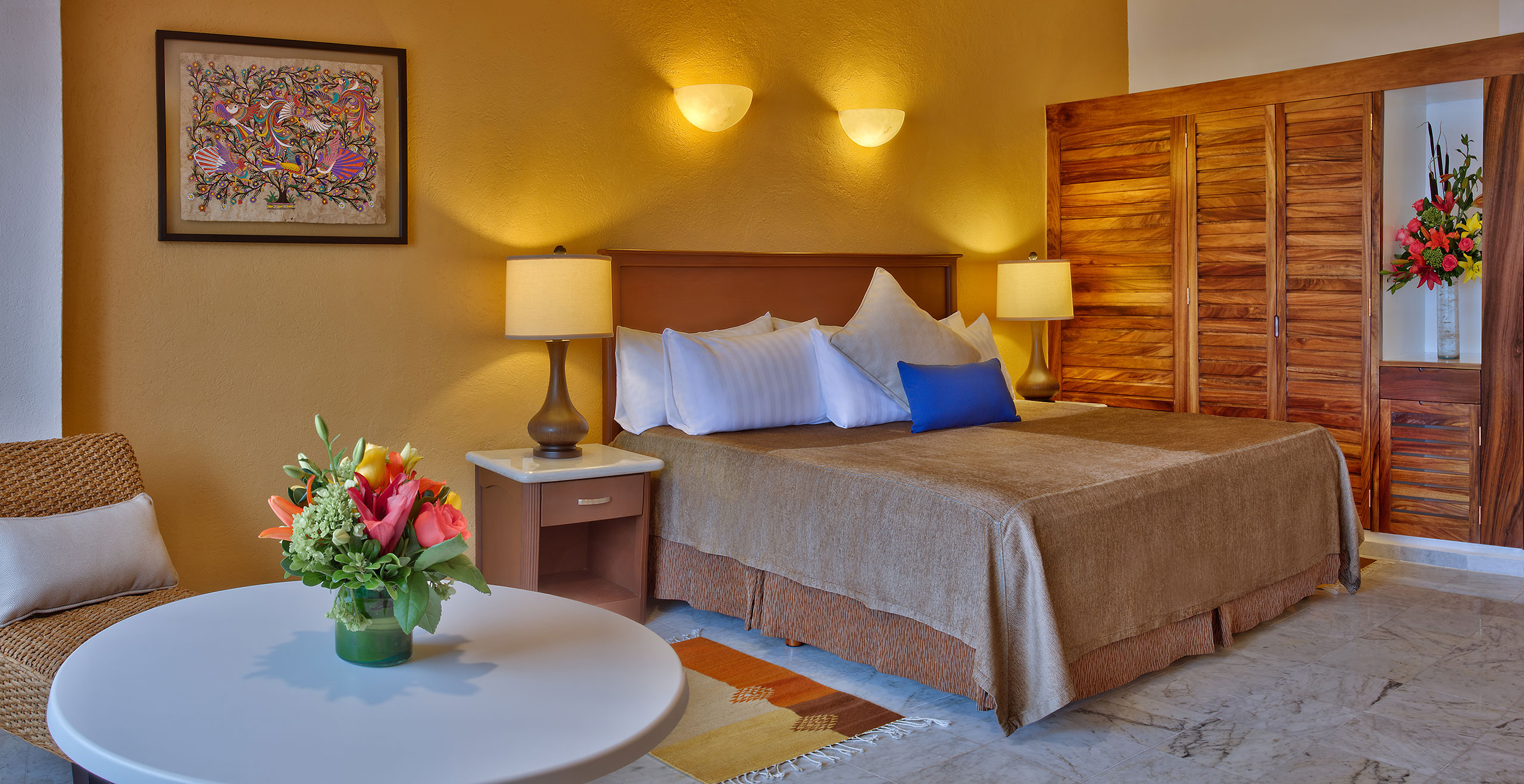 Junior suite at Hotel Las Brisas Huatulco