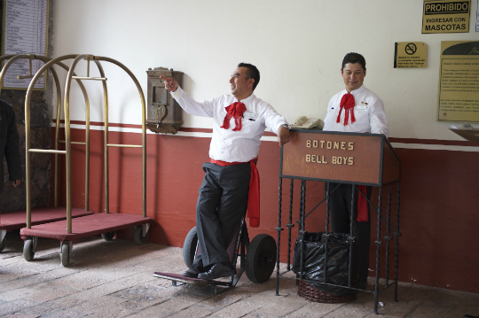bellmen in Hotel Hacienda Jurica by Brisas