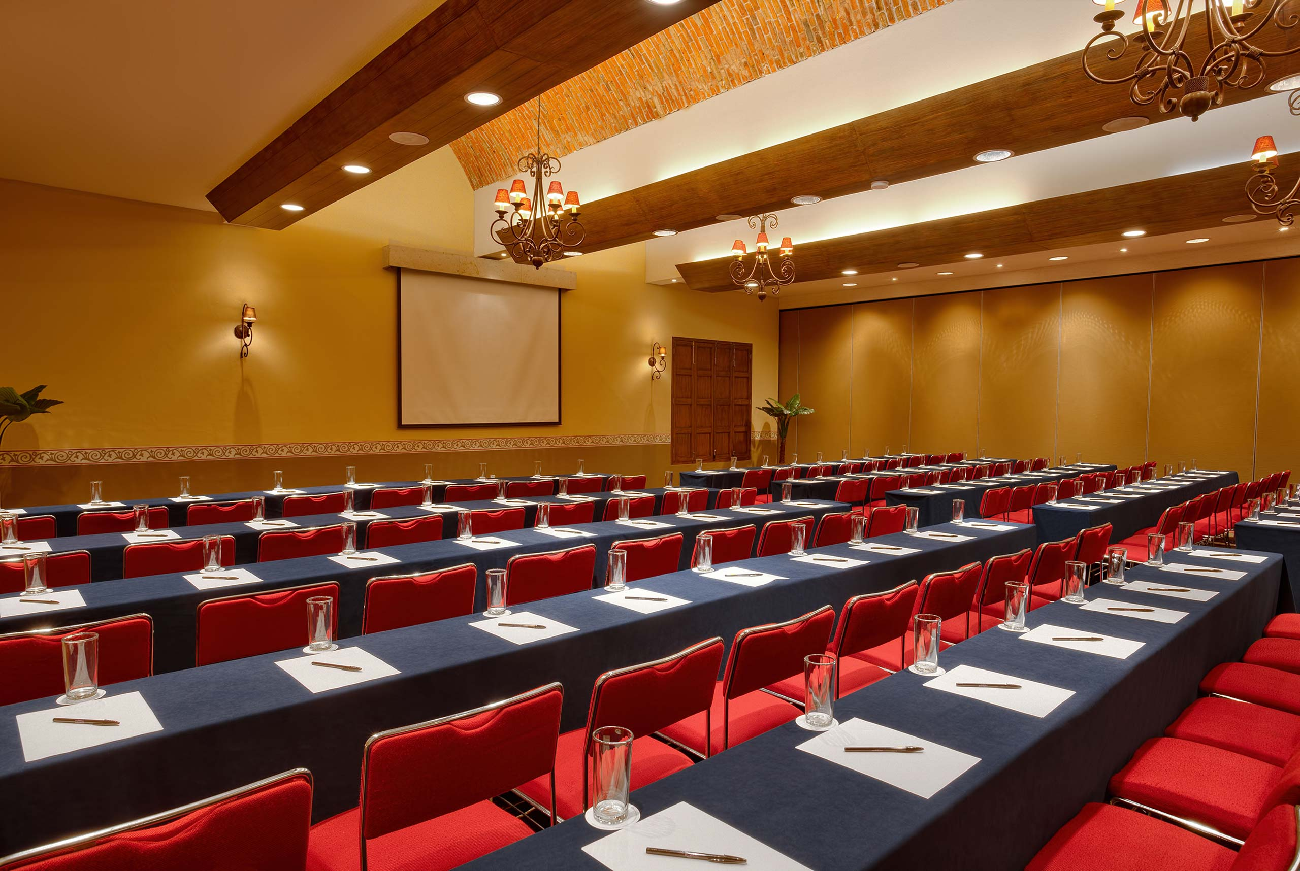Espacio para reuniones en Hotel Hacienda Jurica by Brisas Queretaro