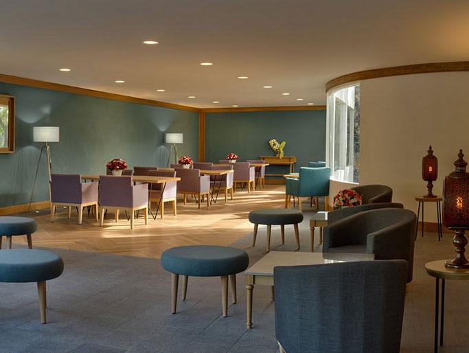 Lounge Ejecutivo en Hotel Hacienda Jurica by Brisas Queretaro