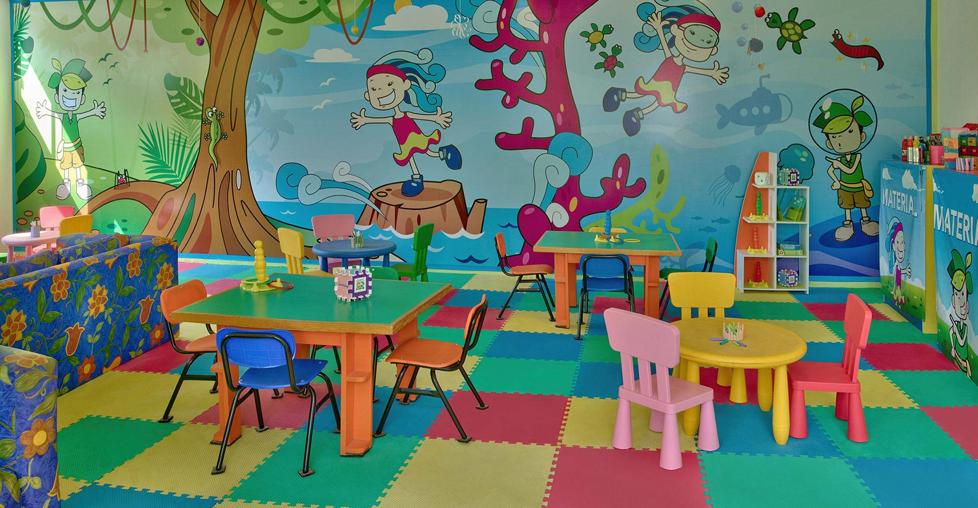 Kids Club at Hotel Hacienda Jurica by Brisas Queretaro