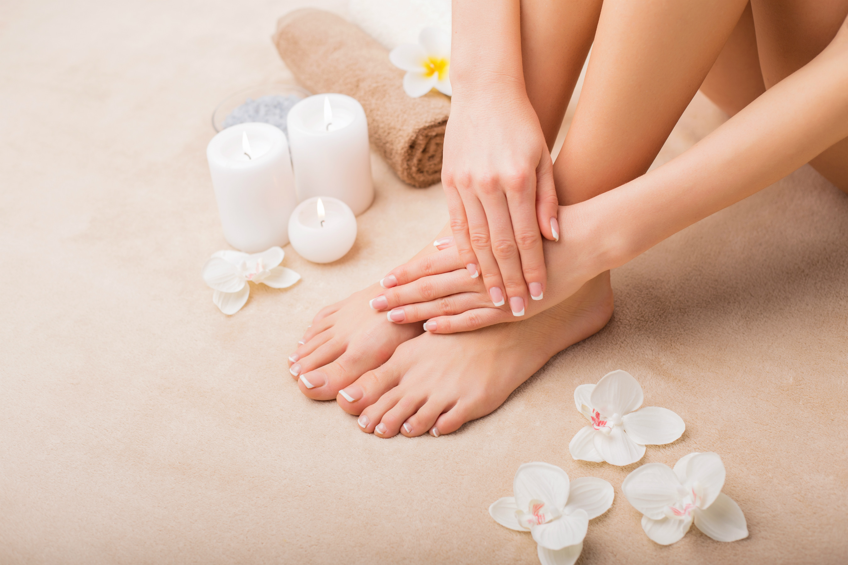 Manicure pedicure spa